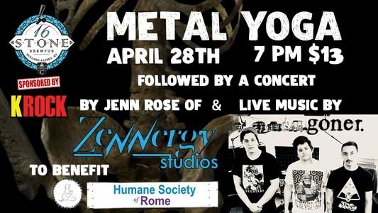 Metal Yoga @ 16 Stone Brewery | Holland Patent | New York | United States